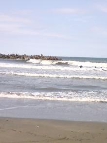 2008年10月12日の海