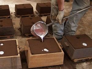 アルミ、砂型鋳造の世界 | 東京...