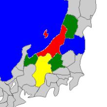 新潟地域4色塗りわけ