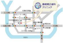 徳島の矯正歯科治療専門医院-map