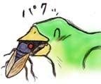 セミ食う鳥