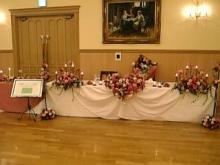 テーブル花3