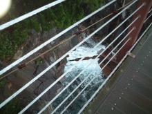 城ヶ崎つり橋の下