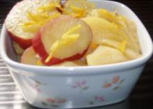 さつま芋とリンゴ