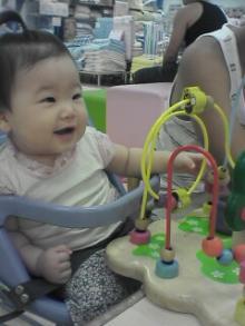 赤ちゃん広場にて