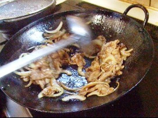 中華風しょうが焼きレシピ工程画像
