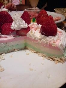 日々 更に駆け引き-3色ケーキ