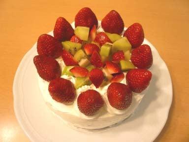 はらへりこめこの子育て日記 ~りゅうくん、はじめてのごはん~-バースデーケーキ
