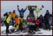 ロフトで綴る山と山スキー-山頂ショット