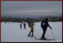 ロフトで綴る山と山スキー-ゴルフ場を行く