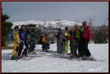 ロフトで綴る山と山スキー-滑り終えて