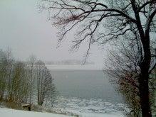 穏やかに-雪景色