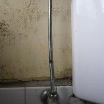 水漏れ修理!