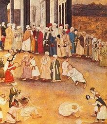 """げたにれの """"日日是言語学""""-17世紀インドのダルヴィーシュの集団"""
