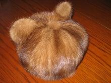 大木毛皮店 ギタバカ工場長 の毛皮修理専門ブログ-帽子にリフォーム