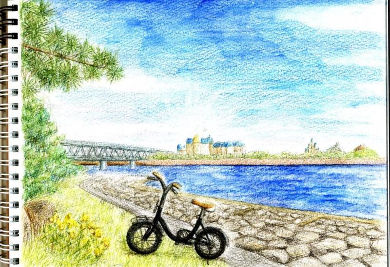作品の紹介風景画編 癒し系イラストレーターマリカの幸せ日記