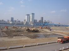 続 東京百景(BETA version)-ゆりかもめ延伸開業初日の市場前