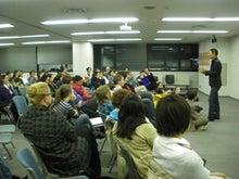 映画『精神』宣伝ブログ-テンプル大学での上映会