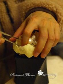 Plumerry(プルメリー)プリザーブドフラワースクール (千葉・浦安校)-アイスフラワー髪飾り
