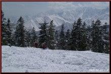 ロフトで綴る山と山スキー-下山開始