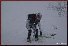 ロフトで綴る山と山スキー-シール貼り