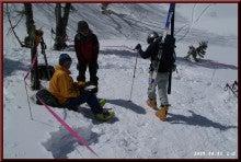 ロフトで綴る山と山スキー-C地点へ