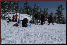 ロフトで綴る山と山スキー-A地点へ