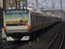 中央線の電車と釜-H58