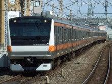 中央線の電車と釜-T13