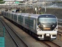 中央線の電車と釜-M110