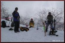 ロフトで綴る山と山スキー-B地点準備完了