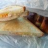 大好きなパンと「福島潟」の菜の花畑の画像