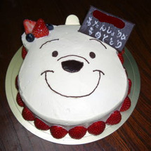 ケーキの写真!