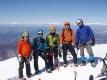 関西蛍雪山岳会のページ-阿弥陀岳山頂にて