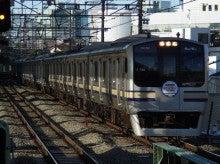 中央線の電車と釜-E217*Y-108+Y-***