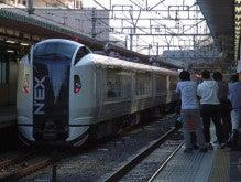 中央線の電車と釜-E259*NB001+NB002