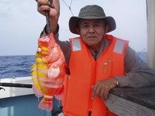 沖縄から遊漁船「アユナ丸」-釣果(H21.4.19)