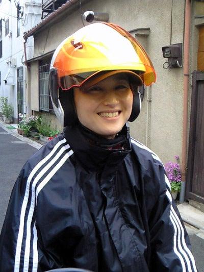 羽田惠理香オフィシャルブログ「Erikaちゃんぷるー」-原付バイク