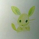 山猫のニャンニャンリーディング-黄緑うさぎ①