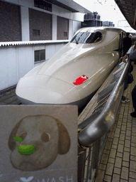 環境にやさしいシャンプー「ソイウォッシュfor PET」-新幹線