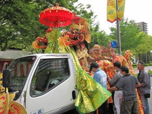 HIFF 広島インドネシア家族会-花車準備