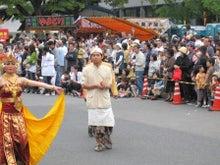 HIFF 広島インドネシア家族会-パレードするラスナ