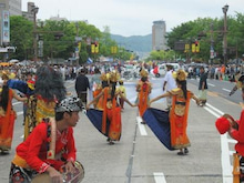 HIFF 広島インドネシア家族会-パレード