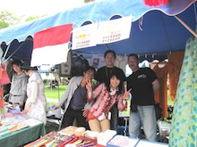 HIFF 広島インドネシア家族会-販売テント