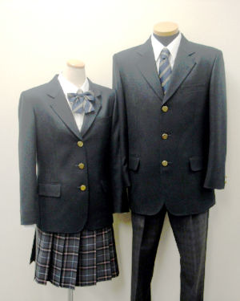 明蓬館高等学校制服