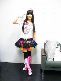新谷良子オフィシャルblog 「はぴすま☆だいありー♪」 Powered by Ameba-赤坂の衣装♪