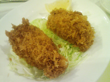 ニコタマ定食-カキフライ