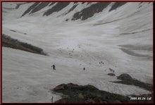 ロフトで綴る山と山スキー-見下ろす急登