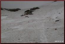 ロフトで綴る山と山スキー-見上げる急登