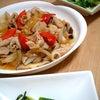 野菜と茸と豚肉の生姜炒めの画像